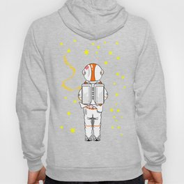 Astronaut Caught Short Hoody