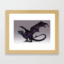 Thistlehead Wyvern Framed Art Print
