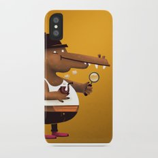In Vest A Gator iPhone X Slim Case