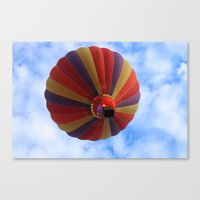 balloon Canvas Prints featuring Balloon  by Christine baessler