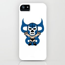 LUCHA#15 iPhone Case