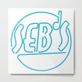 Seb's club la la land Metal Print
