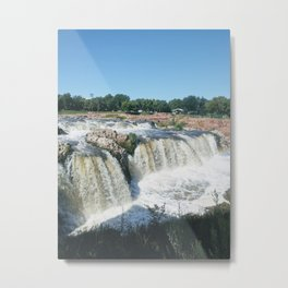The Great Falls on The Big Sioux River Metal Print
