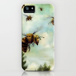 Crown of Bees iPhone Case