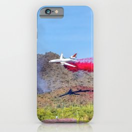 10 Tanker Air Carrier Tanker Jet Putting Out The East Valley Fire on 5/17/2020 iPhone Case