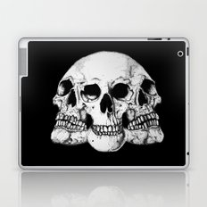 Threesome Skull - Black version Laptop & iPad Skin