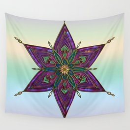 Crest of Kali Wall Tapestry