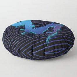 Northern Lights Floor Pillow