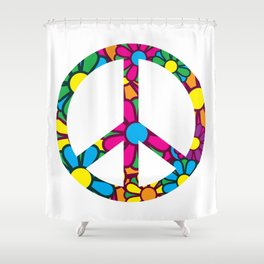 Ban da Bomb Shower Curtain