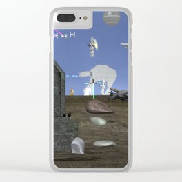 WarStars: Reminiscence Clear iPhone Case