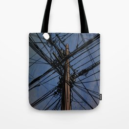 wires 02 Tote Bag
