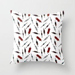 Resistors - Color Throw Pillow