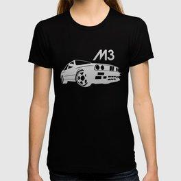 BMW E30 M3 - silver - T-shirt
