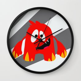 Little Monster 5 Wall Clock