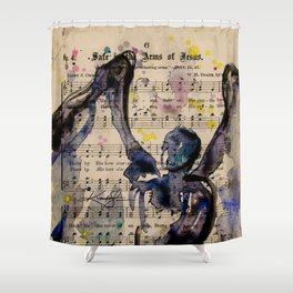 Calling All Angels No. 46 Shower Curtain