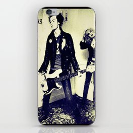 The tragedy of rock star iPhone Skin