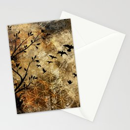 Life In Midst Of Chaos Stationery Cards