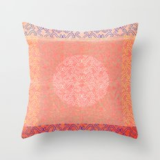 Coral Treat  Throw Pillow