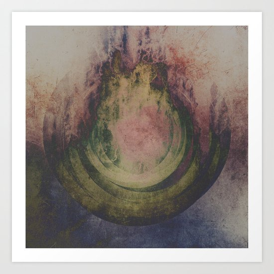Spiritual travel Art Print