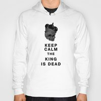 keep calm Hoodies featuring Keep calm by lescapricesdefilles