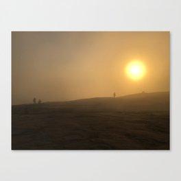 Sunrise at Stone Mountain, Georgia Canvas Print