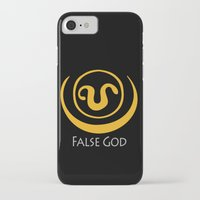 stargate iPhone & iPod Cases featuring False God. Inspired by Stargate SG1 - The symbol of Apophis as worn by Teal'c by hypergeek