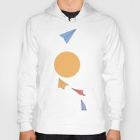 planes Hoodies featuring Paper Planes by sandrine