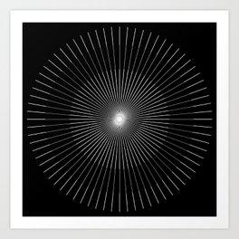 Holy Triangle  Art Print