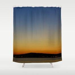 San Pedro Twilight Shower Curtain