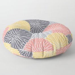 Flower Infusion Floor Pillow