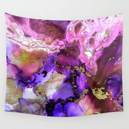 Gilded Wine Wall Tapestry