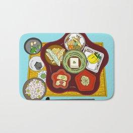Japanese Veggie Platter Bath Mat