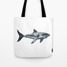 Great White (c) Tote Bag