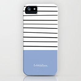 MARINERASBLUE iPhone Case