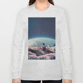 My World Blossomed when I Loved You Long Sleeve T-shirt