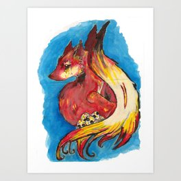 Death Angel Art Print