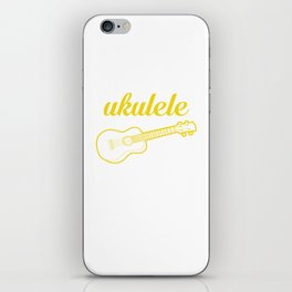 It's a Ukulele Thing, You Wouldn't Understand Funny T-shirt iPhone Skin