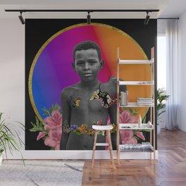 Black Boys Bloom Too #8 Wall Mural