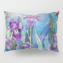 Fantasy Irises Pillow Sham