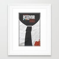 reservoir dogs Framed Art Prints featuring Reservoir Dogs by The Graham Crackerist