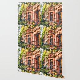 New York City Autumn Pumpkin Wallpaper