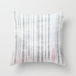 The Company of Wolves Throw Pillow