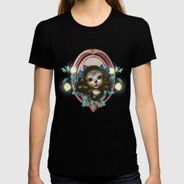 Kitschy Blue Puppy T-shirt
