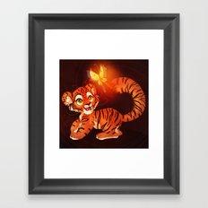 Tiger Cub Framed Art Print