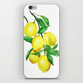 lemon iPhone Skin