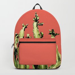 Cactus - red Backpack