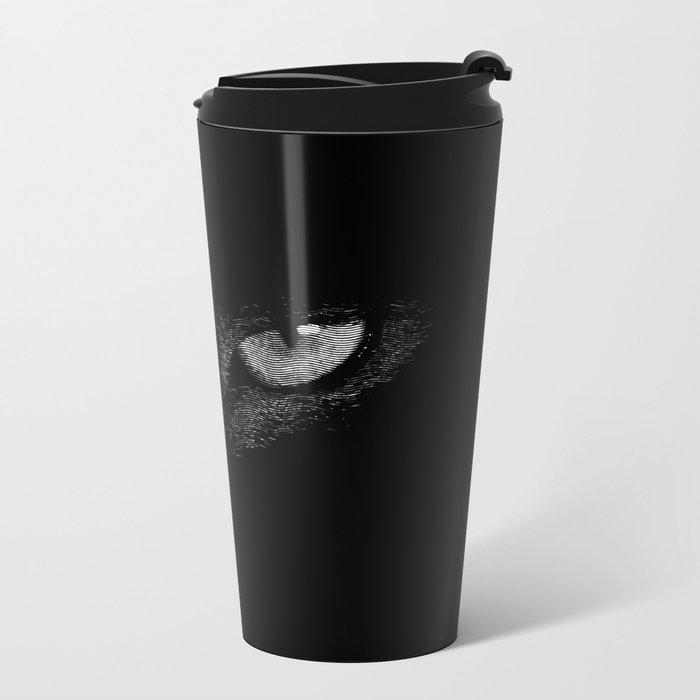i'm watching you Metal Travel Mug