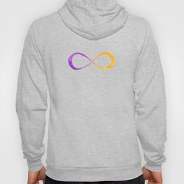 infinite (purple/yellow) Hoody