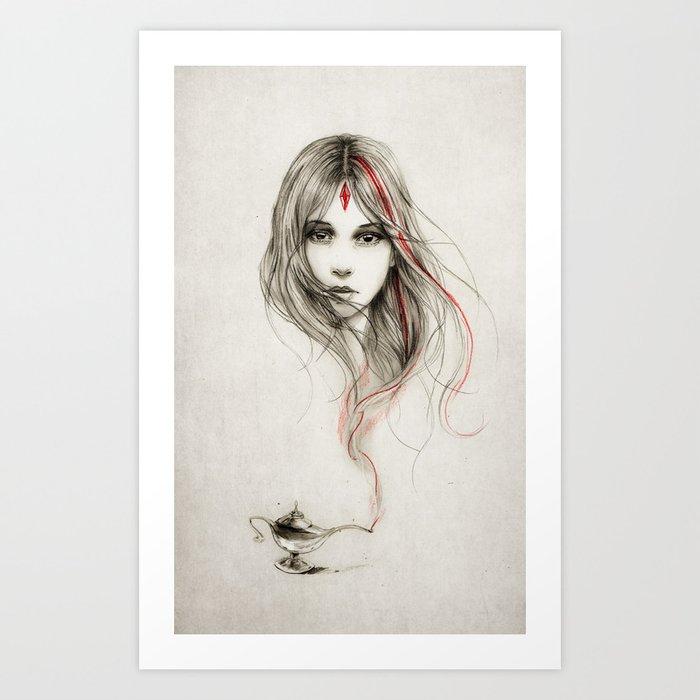 .Desirious Art Print