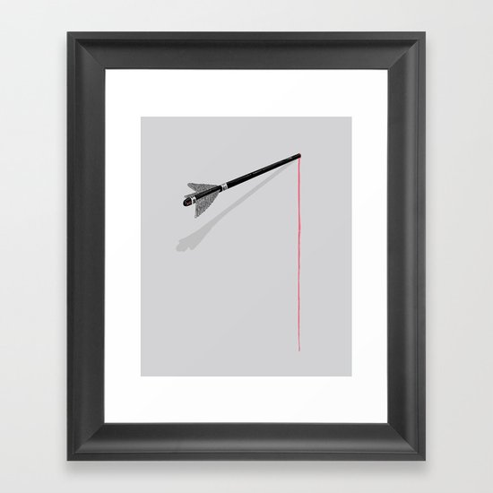 you're to blame Framed Art Print